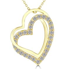b0a435247fd3 2.20 Carat Ladies Red Bottom Shoe Charm Diamond Pendant 14k White Gold   LioriDiamonds  DiamondPendants. See more. 0.36 Carat F-SI Diamond Double  Heart ...