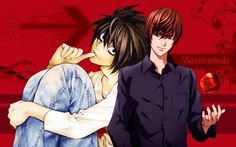 L and Kira from Death Note