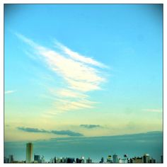 Swoosh in the sky #sky #cloud - @qazunori- #webstagram