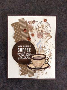 Simon Says Stamp February Card Kit - Coffee, Tea & Cocoa - by Cori Bailey