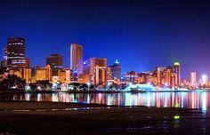 Durban at Night.