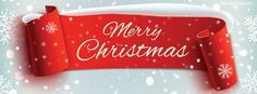 Merry Christmas Banner Cover plus many other high quality Covers for your Facebook profile at CoverLayout.