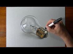 Lightbulb(How to) - Drawing video tutorial by Marcello Barenghi. Read full article: http://webneel.com/video/lightbulbhow-drawing-video-tutorial-marcello-barenghi   more http://webneel.com/video/drawings   more videos http://webneel.com/video/animation   Follow us www.pinterest.com/webneel