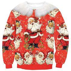 Theshy Mens Winter Christmas Sweater Cardigan Xmas Knitwear Coat Jacket Sweatshirt Casual Sports Jacket