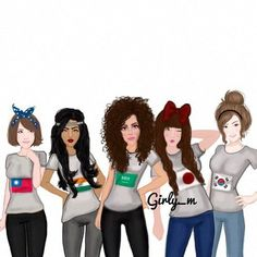 Imagen de girls, cute, and girly_m Best Friends Cartoon, Friend Cartoon, Best Friend Drawings, Girly Drawings, Girly M, Girly Girl, Girly Pictures, Amazing Drawings, Just Girl Things