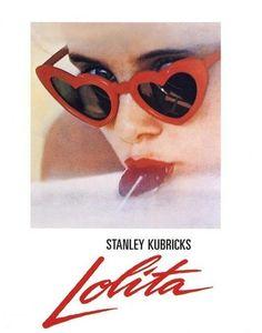 Lolita (1962). Basada en la novela homónima escrita por Vladimir Nabokov.