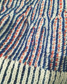 HAND KNIT BY MADI BROWN - wonder how you do this???