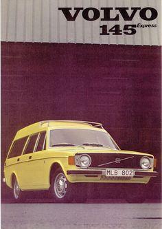 Volvo 145 Volvo Station Wagon, Volvo Wagon, Volvo Cars, Volvo Estate, Marketing Poster, Advertising Sales, Classic Motors, Print Ads, Automobile