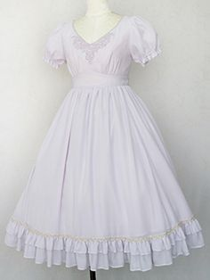 Fairy Lace Long Dress by Victorian maiden