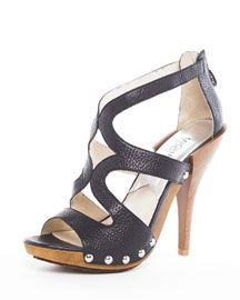 I have these Micheal Kors black sandals