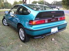 Tahitan Green 1991 Honda CRX Si. Still have mine. Garage kept and still smells new inside.
