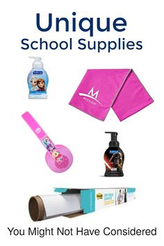 You got the pencils, notebooks, backpack - but here are 5 unique school supplies that you just might not have thought of!
