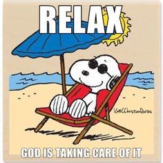 Relax God is taking care of it.