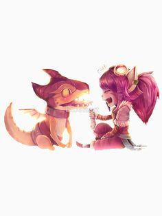 Tristana Entrenadora de Dragones
