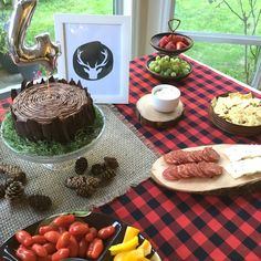 Last Minute Lumberjack Party on the Mushybooks Blog using instant downloads and things you have around the house