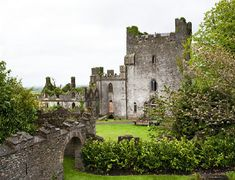 Leap Castle in County Offaly, Ireland