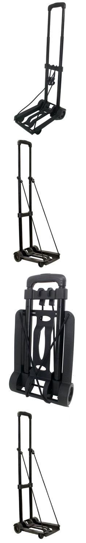 Luggage Carts 164797: Folding Portable Cart Luggage Trolley Travel ...