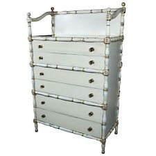 Maison Jansen Faux bamboo and gilt decorated Dresser 102-4678