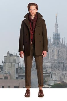 Boglioli Fall 2014. Of course, roll the pants back down.