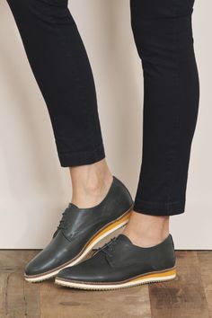 efe4b8795822d Work wear you could actually wear to work · Flats OutfitLeather ShoesWork  ...