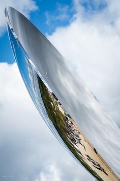 Sky Mirror d'Anish Kapoor - Versailles