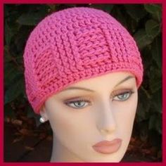 GORROS Y SOMBREROS A CROCHET Crochet Adult Hat ca10b66fd60