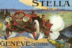 Ministry of Plenty: Stella Automobile ad, 1908