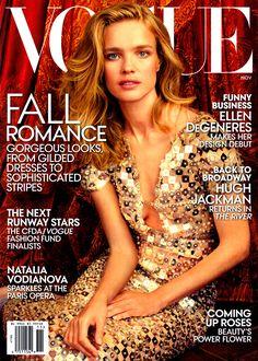 Vogue US November 2014 - Natalia Vodianova
