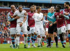 Fracas in Swans 2-1 win over Villa