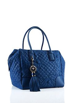 "Versace - ""Vanitas"" Soft Quilted Setchel"
