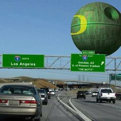 U of O DEATH STAR?! And people wonder why I'm so in love with this school...