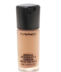 Mac Mineralize Satinfinish Foundation SPF 15   These winning foundations create a flawless look with coverage for every skin type.