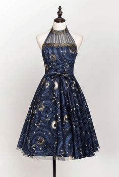 Lost Angel -The Starry Night- Lolita JSK Version II Source by dresses night Cute Prom Dresses, Pretty Dresses, Beautiful Dresses, Short Dresses, Mode Outfits, Dress Outfits, Fashion Dresses, Kleidung Design, Fantasy Dress