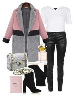 """""""155"""" by biancamarie17 on Polyvore featuring Topshop, Balenciaga, Gianvito Rossi, Chanel, Marc Jacobs and Kate Spade"""