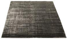 Bamboo Handvävd matta 200x300 - grå