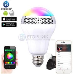 Find More Smart Illumination Information about 5W E27 Wireless Bluetooth Speaker RGB 2.0 Color Smart LED Light Bulb Lamp for iPhone 6S 6 5S For Samsung Smartphone app Control,High Quality speakers for apple products,China lamp fringe Suppliers, Cheap speaker quality from Guangzhou Etoplink Co., Ltd on Aliexpress.com