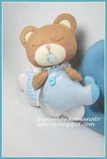 Olá, boa noite!  Sejam bem vindos!   O tema ursinhos é transversal na decoração do quarto do bebé. Ele dá para usar tanto na decoração no q...