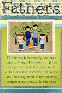 fathers leadership at home. #Fathers