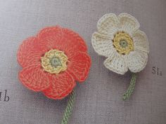 *Japanese poppy flower pattern