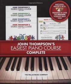 Easiest Piano Course Complete - Boxed Set (Books 1-4 with...