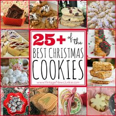 The Best Collection of Christmas Cookie Recipes #ChristmasCookies #Recipes #Christmas