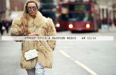 London fashion week street style 2015 x London Fashion Weeks, Italy Street Fashion, Fashion Words, Winter Stil, Street Style 2016, Winter Outfits Women, Winter Fashion, Fashion 2015, Clothes For Women