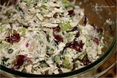 Wicked Yummy: Low Fat Chicken Salad
