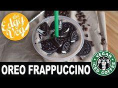 Oreo Frappuccino Starbucks Recipe | The Edgy Veg