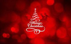 Merry Christmas (Red) Wallpaper http://beyondhdwallpapers.com/merry-christmas-red-wallpaper/ #Christmas #Holidays #Wallpapers #HD #MerryChristmas #Backgrounds