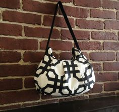 Pleated Bag // Shoulder Purse  Groovy Grill by lireca on Etsy, $35.00