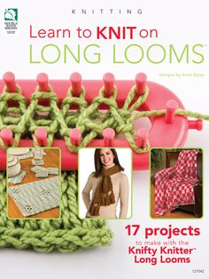 Loom Knitting blog - must read. Looks great.