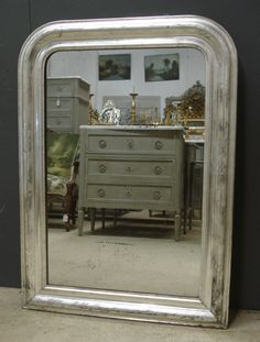 19th century Louis Philippe antique French mirror from www.jasperjacks.com