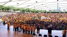 Jackie Robinson West celebration in Millennium Park. National Little League champs!  So awesome!