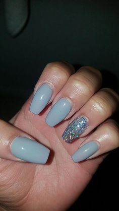 In seek out some nail designs and some ideas for your nails? Here is our listing of must-try coffin acrylic nails for modern women. Simple Acrylic Nails, Acrylic Nails Coffin Short, Blue Acrylic Nails, Summer Acrylic Nails, Coffin Nails, Neutral Gel Nails, Dark Skin Nail Color, Aycrlic Nails, Hair And Nails